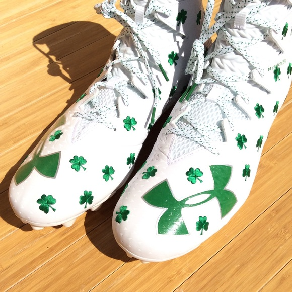 8bb94bf3fb80 UA Highlight Shamrock Lacrosse Football Cleats NEW. NWT. Under Armour.  M_5c78aecce944bad4c697ae02. M_5c78aecf3e0caadfedc6d24b.  M_5c78aed1534ef98e91dbf57e